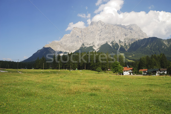 Mount Zugspitze Stock photo © manfredxy