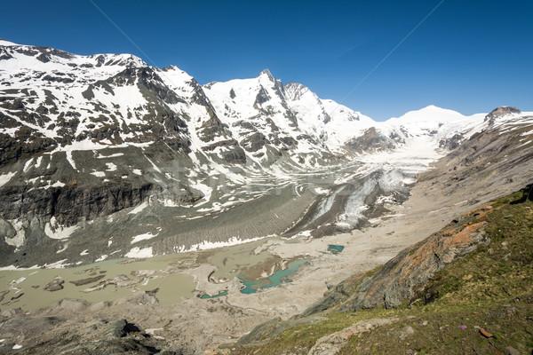 Glacier in the alps Stock photo © manfredxy