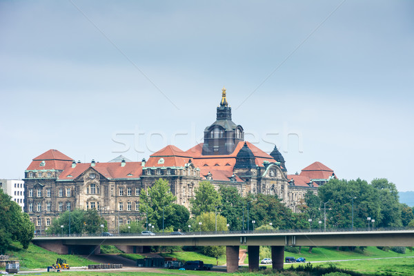 Government Building in Dresden Stock photo © manfredxy