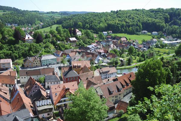 Waischenfeld Village Stock photo © manfredxy