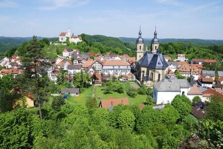 Village Of Goessweinstein Stock photo © manfredxy