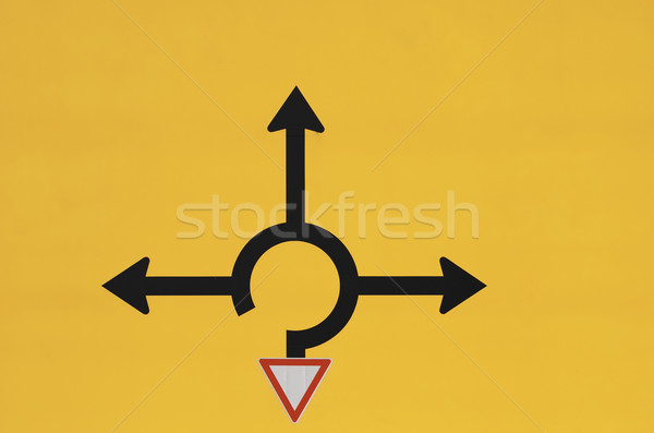 Choose direction Stock photo © manfredxy