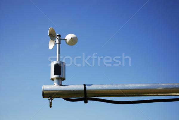 Pogoda stacja wiatr prędkość niebo Zdjęcia stock © manfredxy