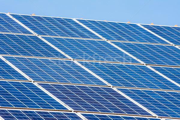 太陽 背景 技術 エネルギー 環境 生態学 ストックフォト © manfredxy