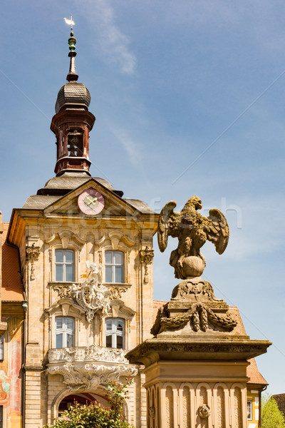 Historic town hall of Bamberg Stock photo © manfredxy