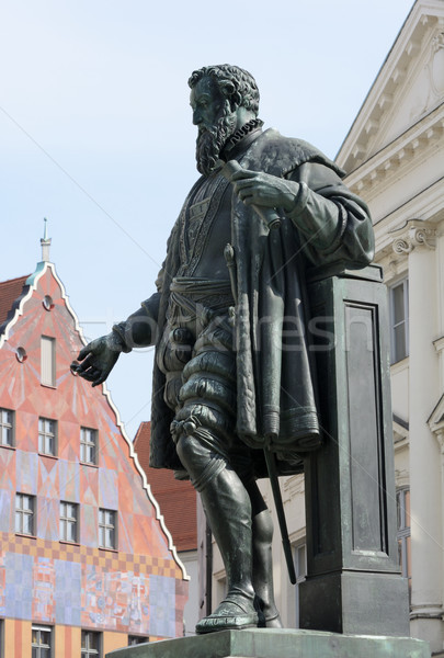 Fugger Sculpture Stock photo © manfredxy