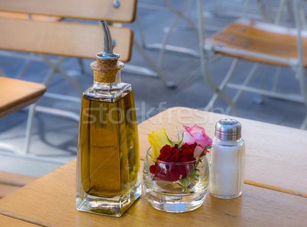 Place cover on a table Stock photo © manfredxy