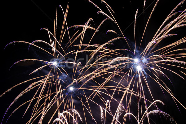 Fireworks Display Stock photo © manfredxy
