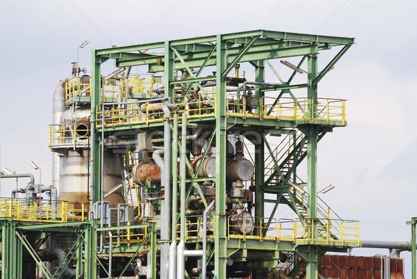 Terkedilmiş endüstriyel teknoloji Metal sanayi Stok fotoğraf © manfredxy