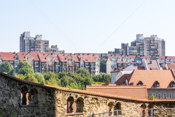 Housing Block in Poland Stock photo © manfredxy