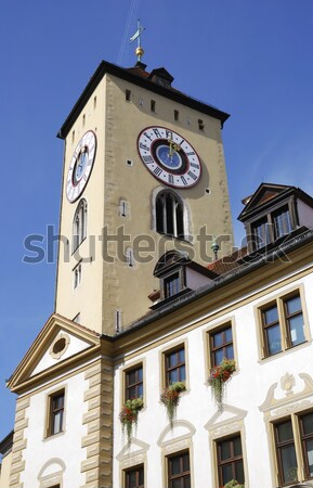 Old Town Hall of Regensburg Stock photo © manfredxy