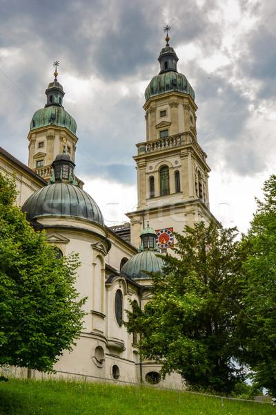 święty bazylika barokowy budynku architektury Zdjęcia stock © manfredxy