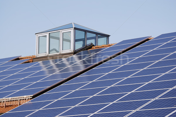 Green Photovoltaic Energy Stock photo © manfredxy