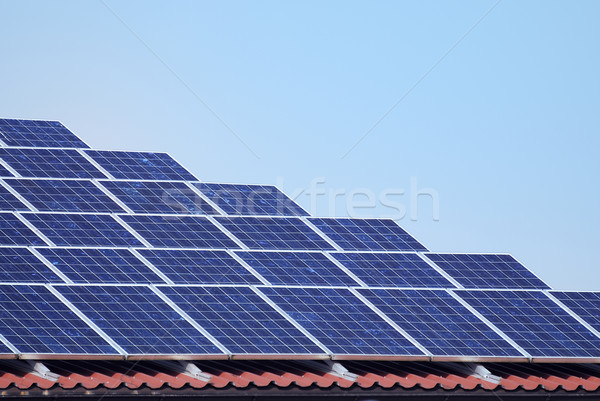 Photovoltaic energy Stock photo © manfredxy