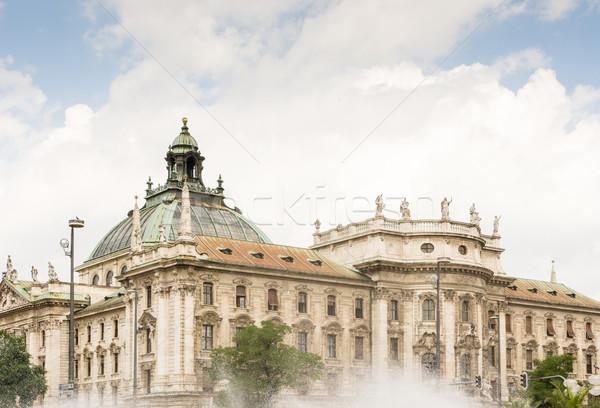 Palácio justiça Munique arquitetura Foto stock © manfredxy