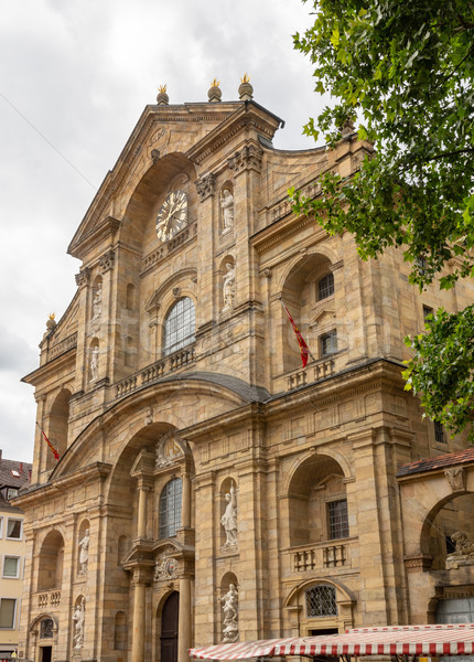 Facade of St. Martin church in Bamberg Stock photo © manfredxy