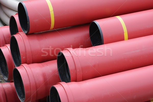 Plastic Pipes Stock photo © manfredxy