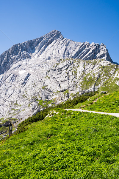 Alpspitze mountain in Bavaria Stock photo © manfredxy