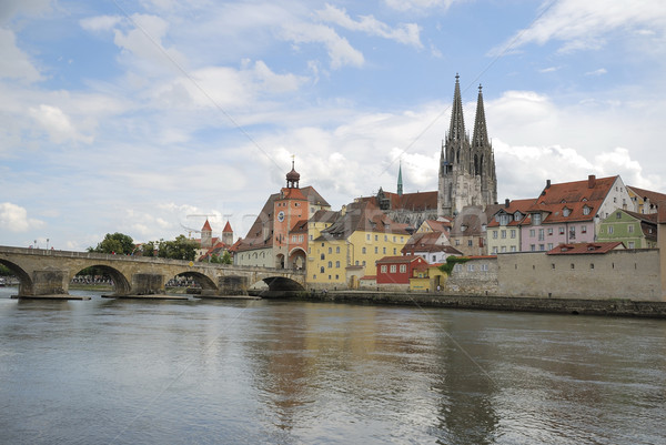 Famous Regensburg Stock photo © manfredxy