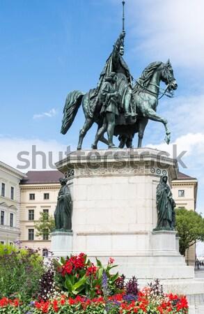 Monument of King Ludwig I Stock photo © manfredxy