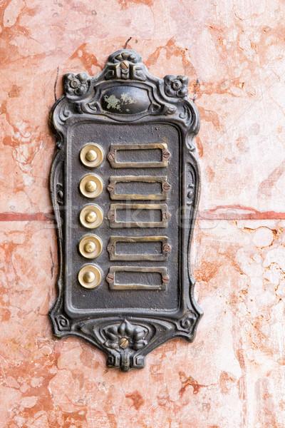 Vintage rouillée marbre mur vieux rétro Photo stock © manfredxy