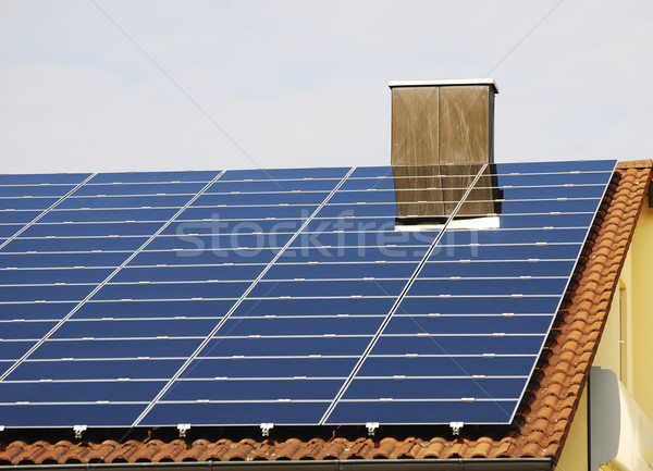 Green Energy With Photovoltaic Stock photo © manfredxy