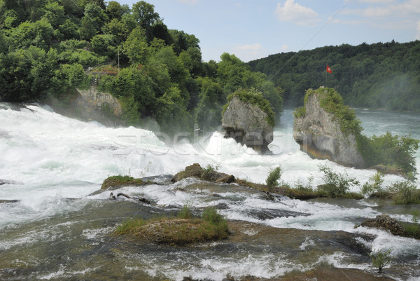Rhine Falls Stock photo © manfredxy