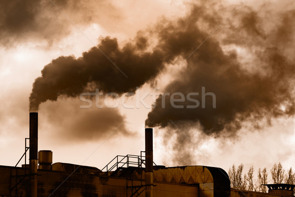 Industrial revolution Stock photo © manfredxy