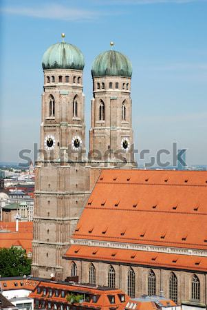 Frauenkirche Stock photo © manfredxy