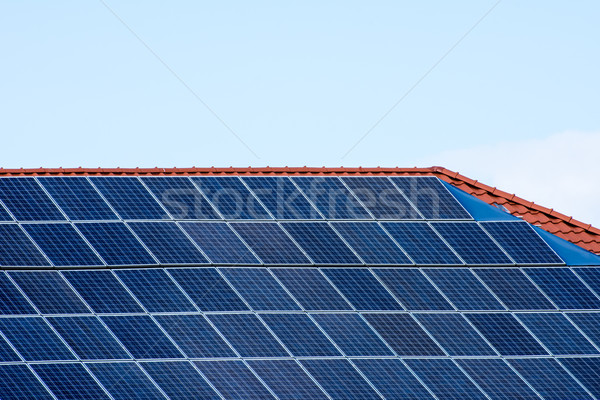 Alternative Energy with Photovoltaic Stock photo © manfredxy