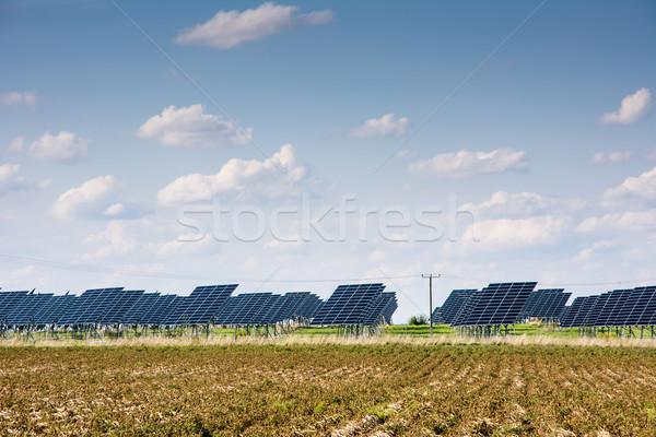 Solar Park Stock photo © manfredxy