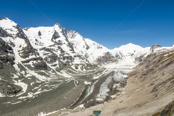 Geleira alpes Áustria grupo montanhas primavera Foto stock © manfredxy