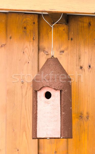 Impiccagione legno capanna primo piano Foto d'archivio © manfredxy