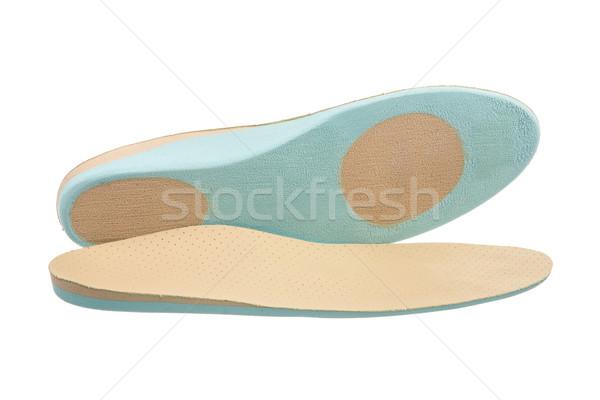 Orthopedische schoen paar medische leder Stockfoto © manfredxy