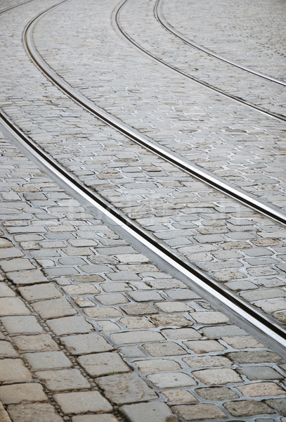 Tram tracks Stock photo © manfredxy