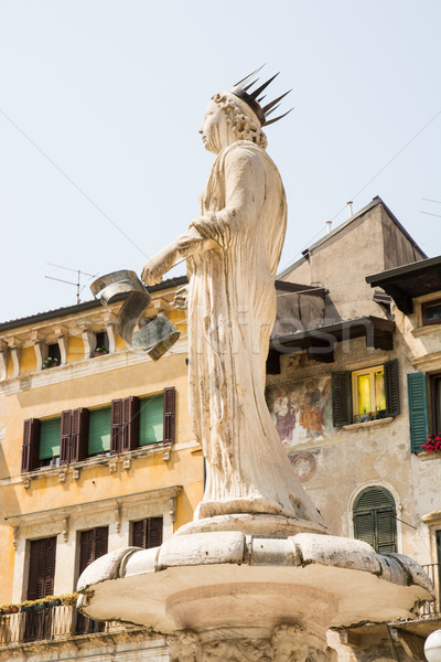 Fontana di Madonna in Verona Stock photo © manfredxy