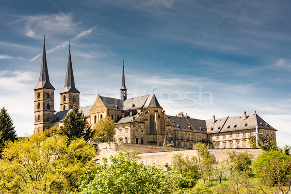 Abadia edifício igreja europa Alemanha ponto de referência Foto stock © manfredxy