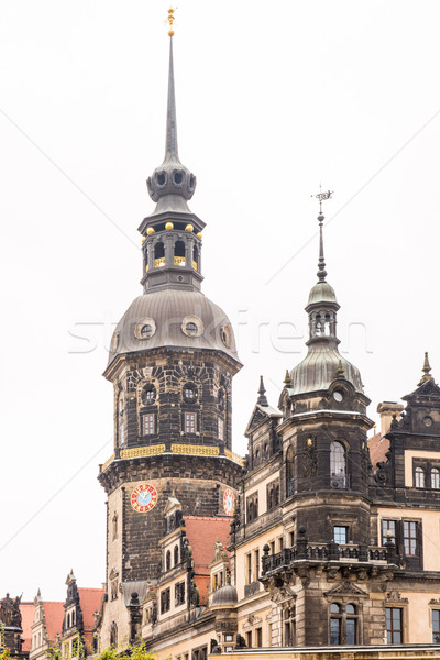 Historic Tower in Dresden Stock photo © manfredxy