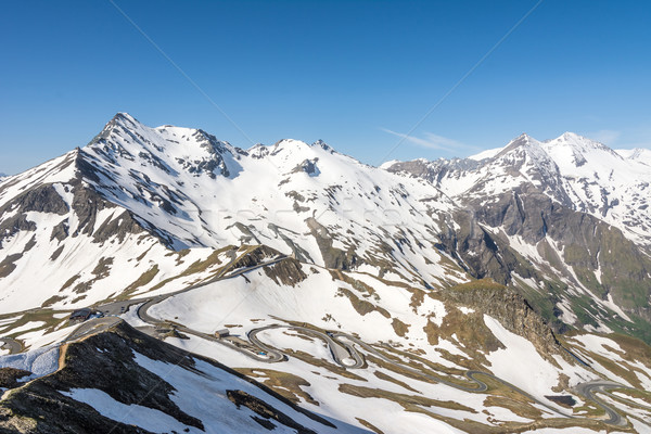 Alpine Panoramic View Stock photo © manfredxy