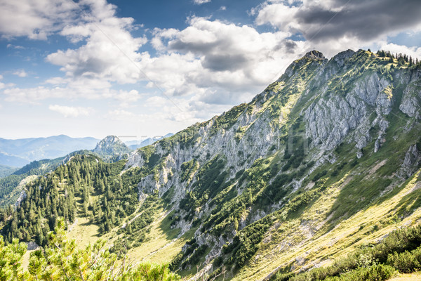 Alpine montagne vue Photo stock © manfredxy