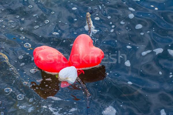 Heart Balloons Stock photo © manfredxy