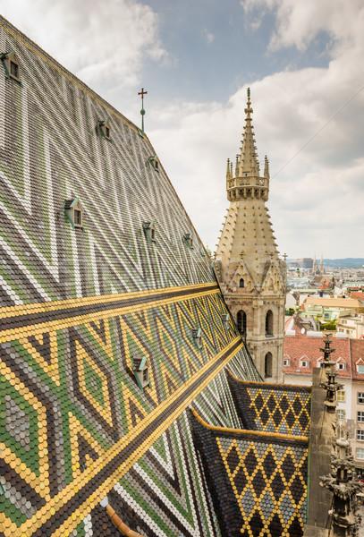 Catedral Viena Áustria cidade igreja Foto stock © manfredxy