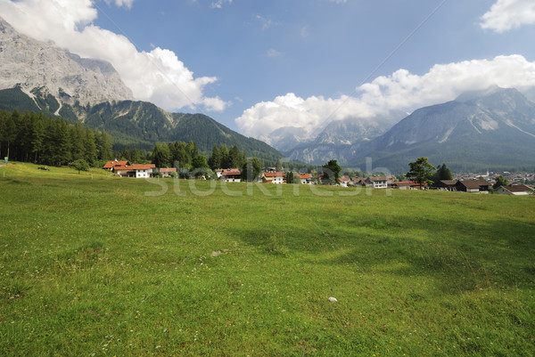 Village in Tirol Stock photo © manfredxy