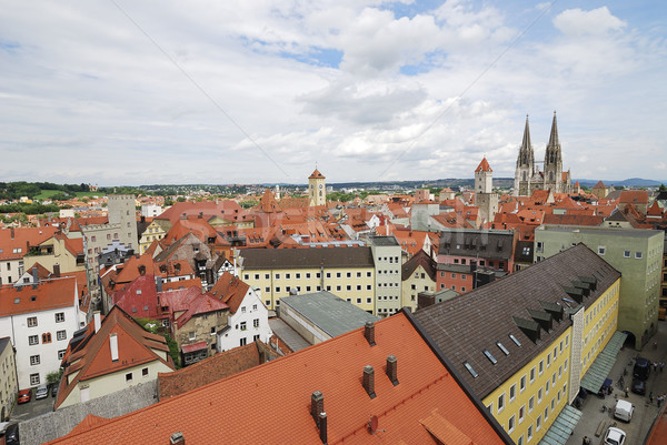 View over Regensburg Stock photo © manfredxy