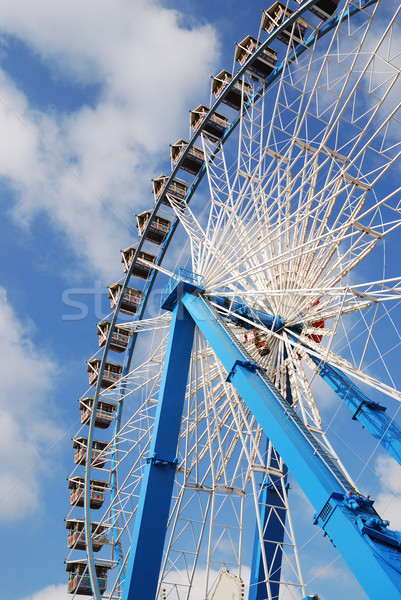 Ferris wheel at the Octoberfest Stock photo © manfredxy