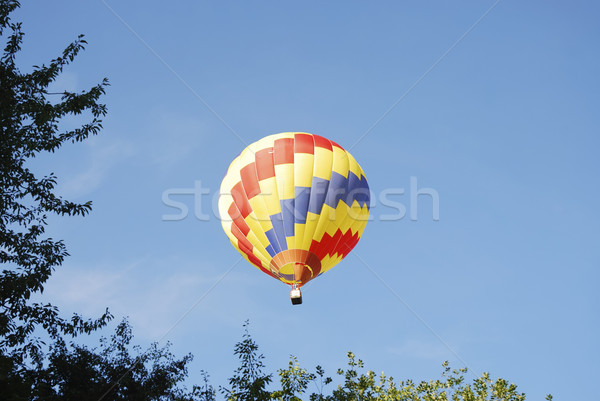 Hot Air Balloon Festival Stock photo © manfredxy