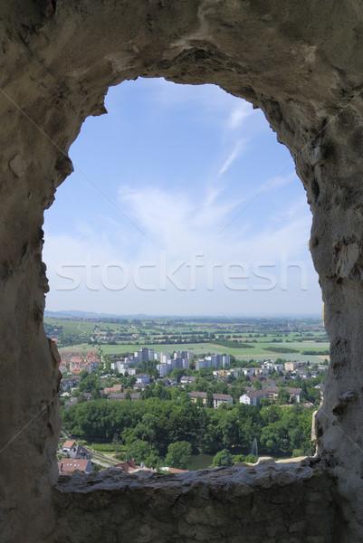 Castle window Stock photo © manfredxy