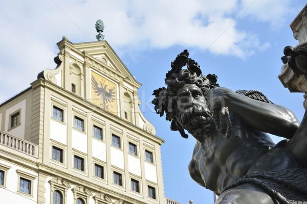 Augsburg Stock photo © manfredxy
