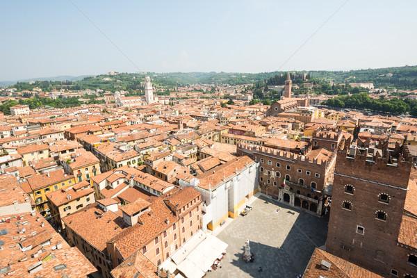 Foto stock: Cityscape · verona · ver · cidade · Itália · arquitetura