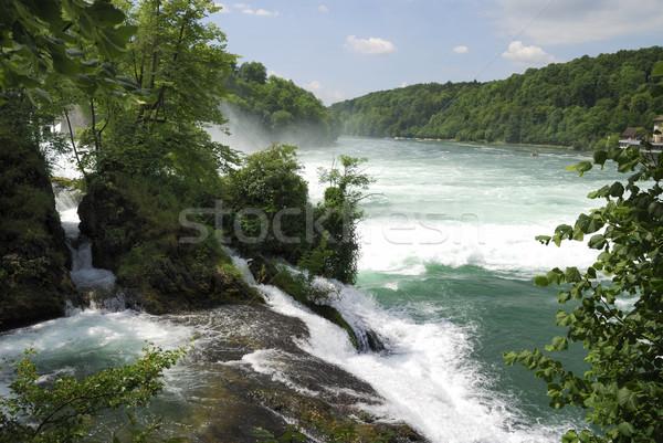 Rhine Falls Stock photo © manfredxy